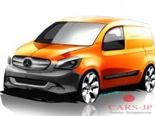 Mercedes-Benz уже осенью этого года выпустит компактный фургон Citan