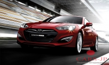 На российском рынке скоро появится обновленный Genesis Coupe