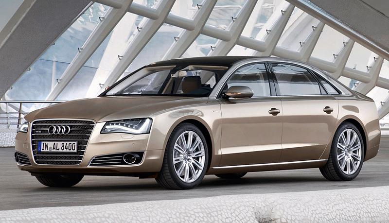 Приветствуем красавицу Audi A8