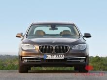 Шпионы получили фото с ипытаний BMW 7-Series