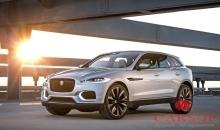 Кроссовер Jaguar F-Pace дебютирует в этом году, а E-Pace в 2020
