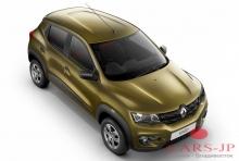Renault Kwid тестируют в Индии